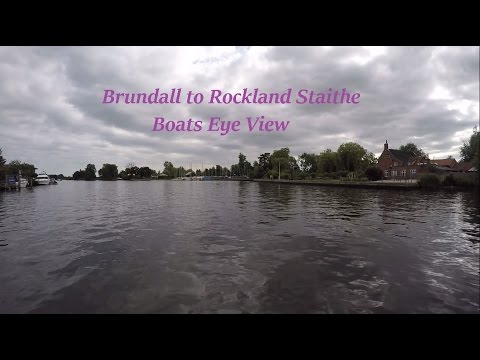 Boats Eye View Brundall to Rockland St Mary Norfolk Broads