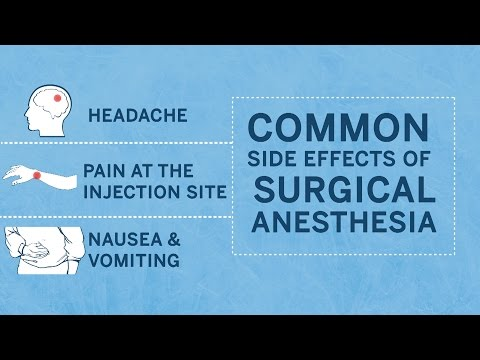 Is Surgical Anesthesia Safe?