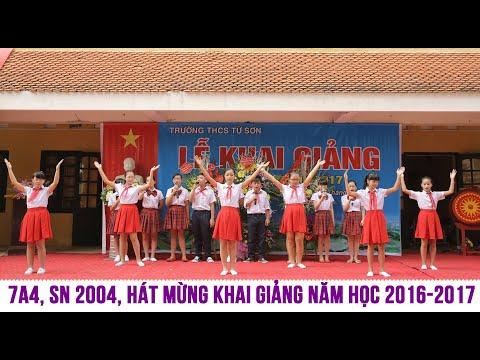 Bay cao tiếng hát ước mơ (Tốp ca lớp 7A4 - THCS Từ Sơn, Bắc Ninh)