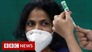 Download Covid vaccination: A 'bittersweet' moment for India's health workers