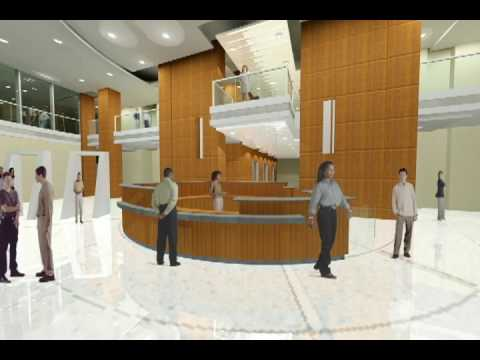Department of Employment Services Lobby Space