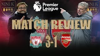 Liverpool 3-1 Arsenal - TACTICAL BREAKDOWN  {Match Review}