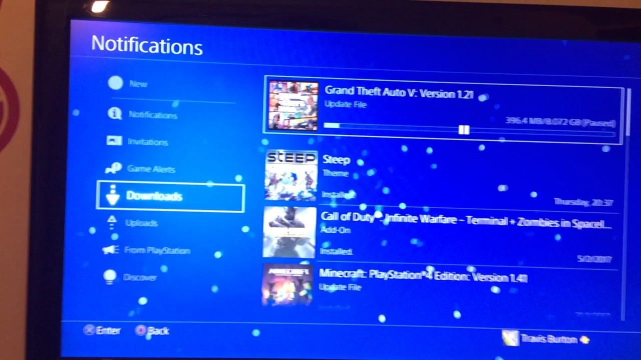 How to stop your ps4 from downloading and updating games.