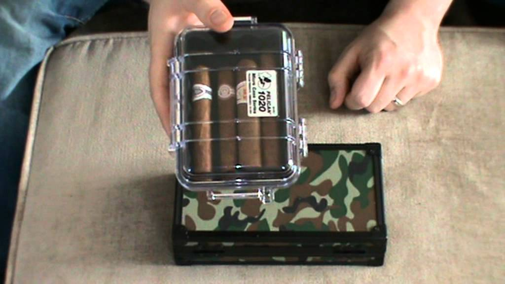 Travel Pelian Case and Travel Humidor