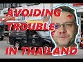 AVOIDING TROUBLES IN THAILAND | The side mirror incident Pattaya