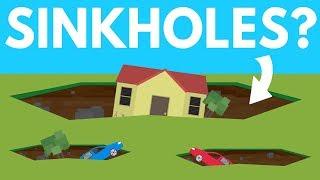 How Do MASSIVE Sinkholes Form? by : Life Noggin