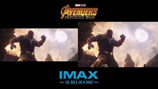 """Avengers: Infinity War"" IMAX® 1.9:1 Aspect Ratio Comparison"