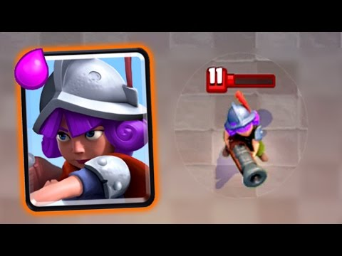 Clash Royale - BEST 1HP MUSKETEER EVER.
