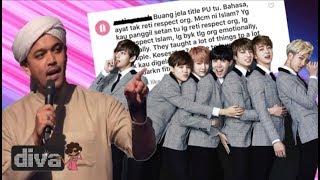 PU Syed Gelar Kumpulan KPOP BTS Setan Timbulkan Kemarahan ARMY