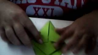 How To Make A Origami Paper Crane!