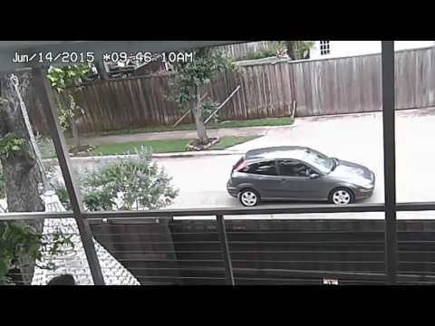 Pervert stalks jogger in East Dallas and gets caught on surveillance cameras!