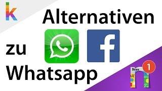 Die besten Alternativen zu Whatsapp!