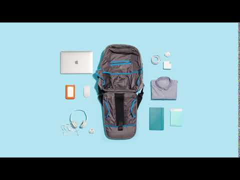 Targus CityLite Security Backpack Stop Motion Video