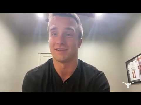 2021 NFL Draft: Sam Ehlinger Media Availability [May 1, 2021]