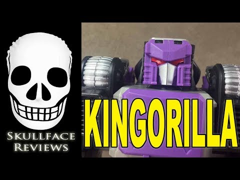 Transformers 3rd Party KFC Kingorilla (Apeface)