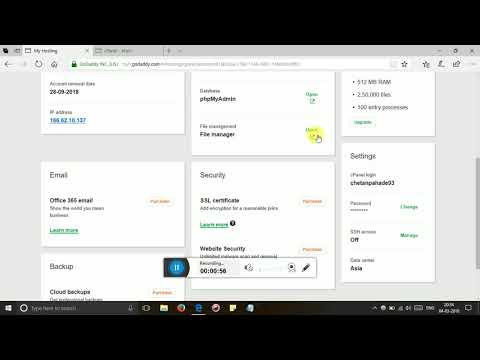 How To Upload Sitemap In Godaddy C Panel Account