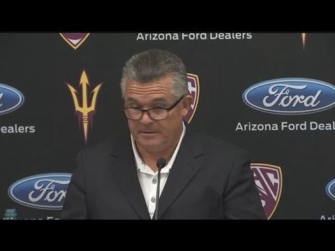 RAW VIDEO: Todd Graham speaks out after being let go from ASU