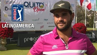 Entrevista con Horacio León tras su victoria en el Quito Open