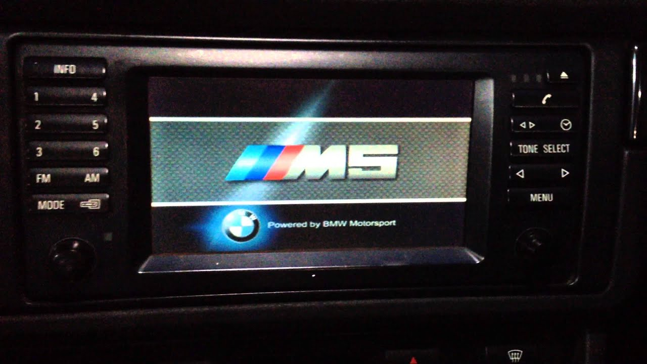 bmw e39 navi update with costum logo youtube. Black Bedroom Furniture Sets. Home Design Ideas