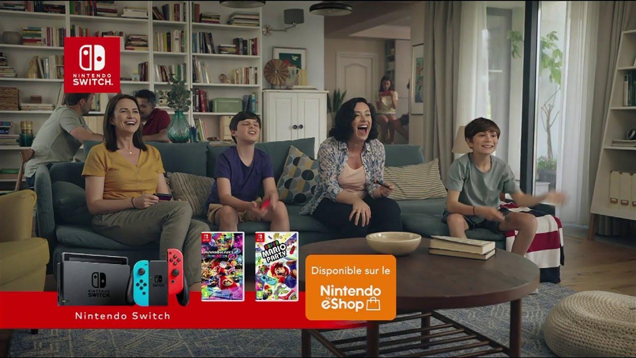 """Musique de la pub Mario Kart 8 deluxe & Super Mario Party Nintendo Switch """"à partager ensemble""""  2021"""