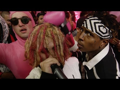 Lil Pump performs D Rose | PINK PARTY