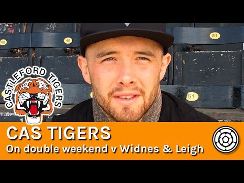Tigers | Nathan Massey ahead of games against Leigh and Widnes
