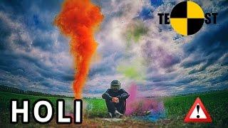 видео Опасные краски Холи