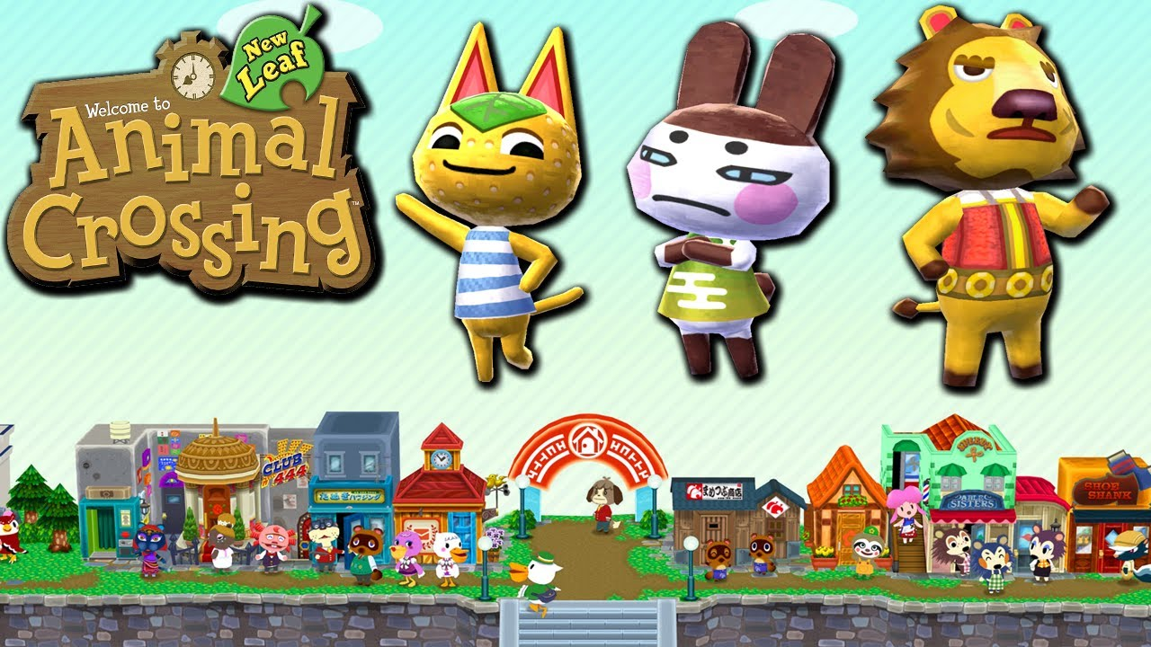 Animal Crossing: New Leaf - Town Meeting (Nintendo 3DS ...