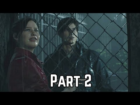 Resident Evil 2 Remake(Claire)(PS4)- Part 2