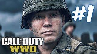 Прохождение Call of Duty: WW2 — Часть 1: День Высадки[Начало].