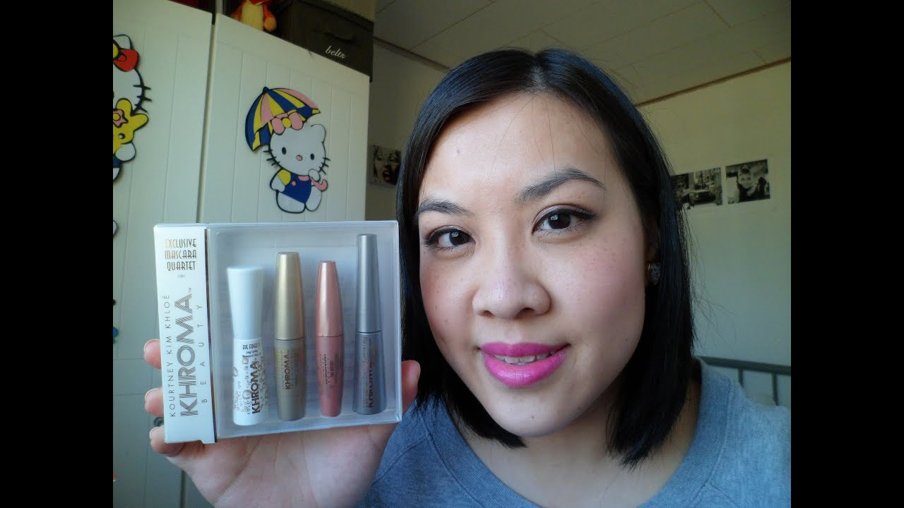 Khroma Beauty Mascara Quartet Review Youtube