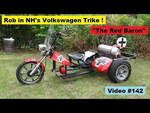 RB-VW Trike #142: 1986 Monte Carlo SS Rim Restoration & Tool Sorting