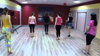 КИЗОМБА первый урок от Насти Сурмачевской / Dance Center(