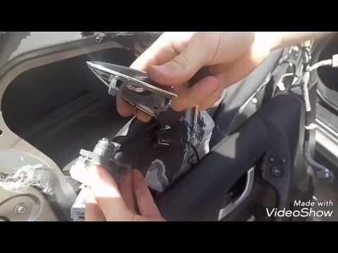 Установка дверного замка Honda Accord 2010