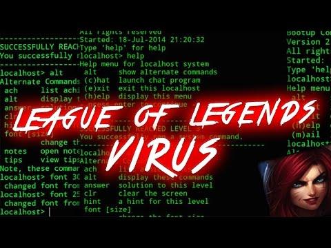 LEAGUE OF LEGENDS VIRUS