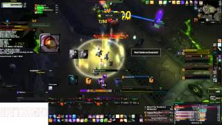 Distortion vs Mythic Kilrog (Shadow Priest POV)