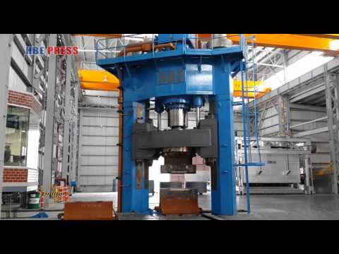 2500Ton TWO COLUMN OPEN DIE FORGING PRESS COMMISSIONING