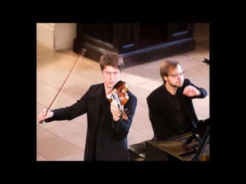 "Foyle-Stsura Duo play W. Jeths: ""Forte""  - Michael Foyle (violin), Maksim Stsura (piano)"