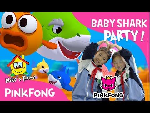 Baby Shark Party Dance at Kingfar School of Xi'an China ...