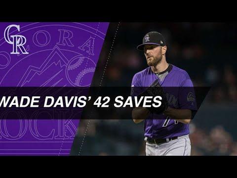 Wade Davis breaks Rockies' save record