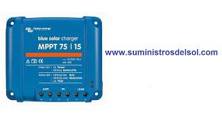 Regulador BlueSolar MPPT 75/15 (12/24V-15A)