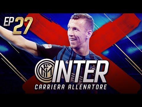 PERISIC VUOLE ANDARSENE!! LO VENDO?? - CARRIERA ALLENATORE INTER EP.27 FIFA 18