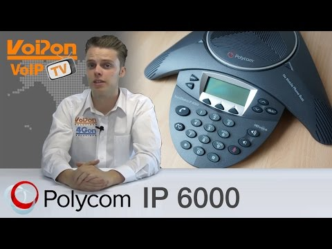 Polycom SoundStation IP6000 Conference Phone Video Review / Unboxing