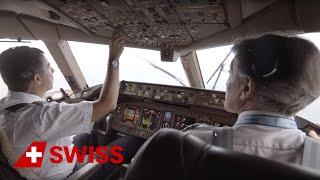 Retraining of the Cockpit Crew for Boeing 777-300ER | SWISS