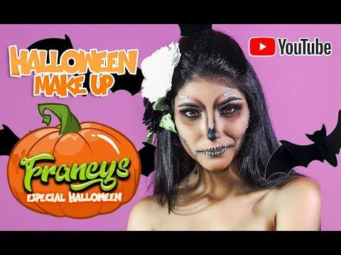 DIY Makeup tutorial Halloween 2019 Francys Runque