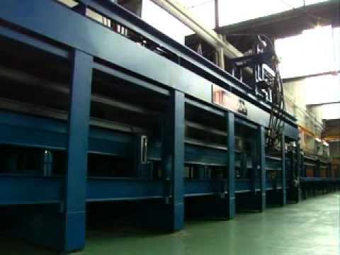 Linea de fabricacion de paneles de poliuretano 12 mts - Paneles de poliuretano ...