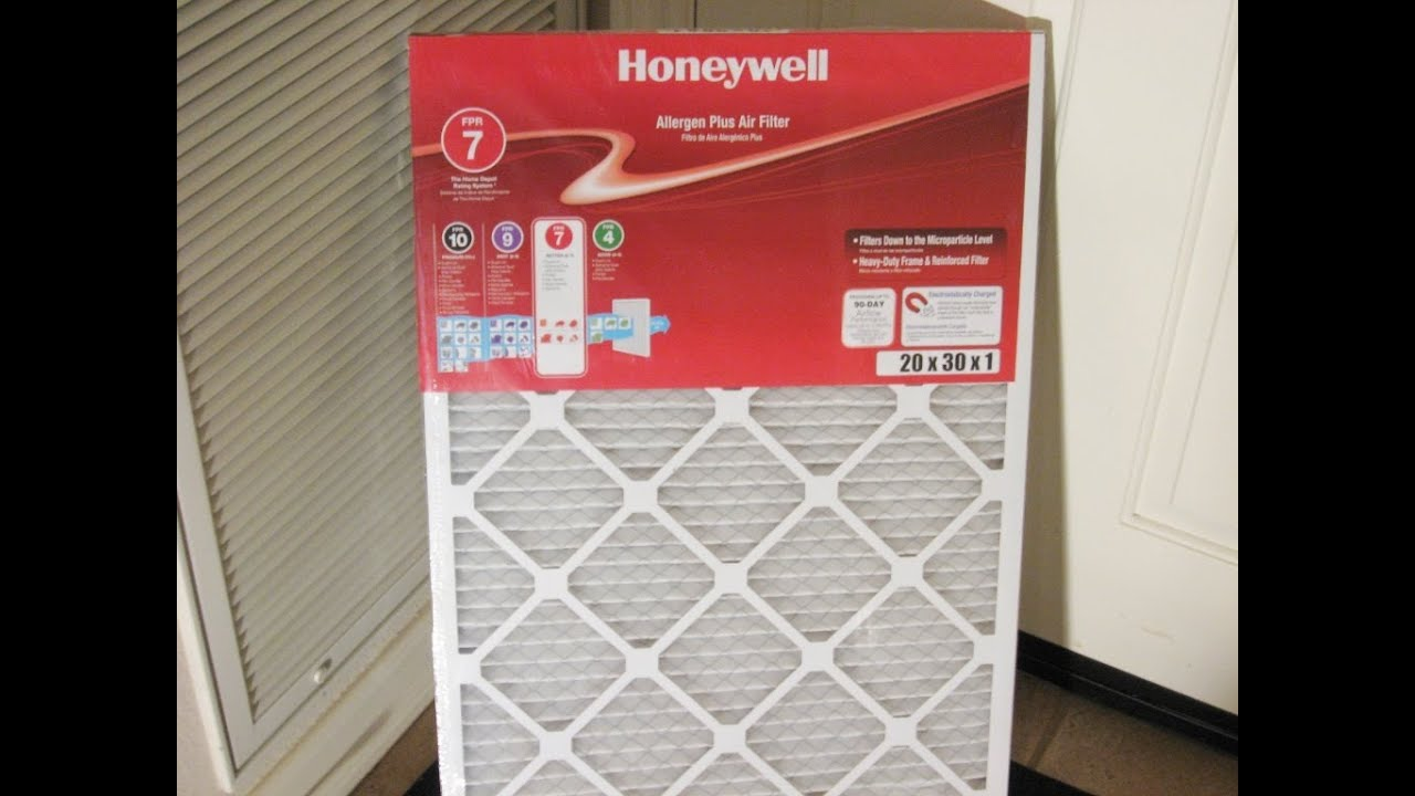 home maintenance central heating air filter replace by froggy - Air Filter Home