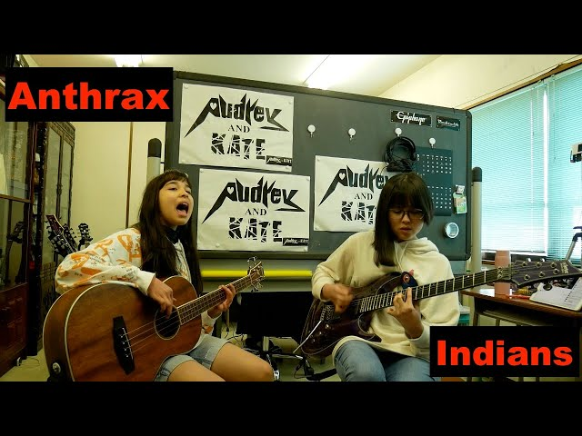 #Anthrax - #Indians - guitar + bass #cover #アンスラックス