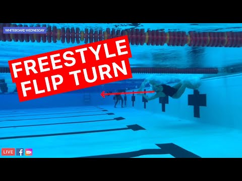 How To Do A Freestyle Flip Turn - 5 Step Guide | Whiteboard Wednesday