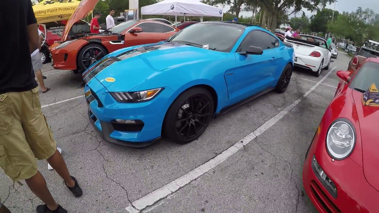 Owners perspective 2017 mustang gt350 grabber blue
